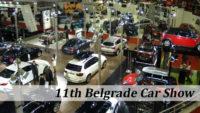 Belgrade car show